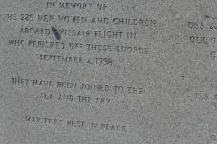 Inschrift Gedenkstein