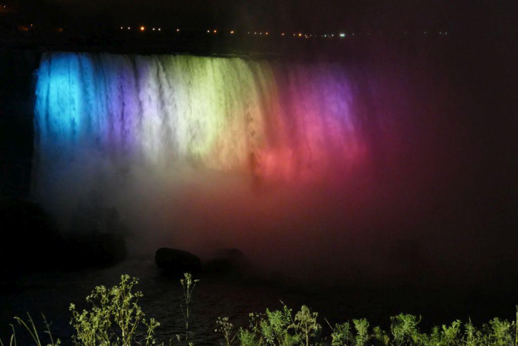 Niagara Fall Nacht 1