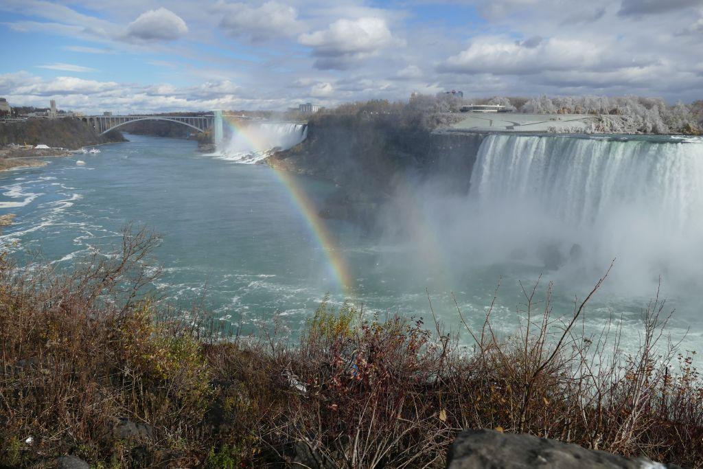 Rainbow Bridge Niagara Falls