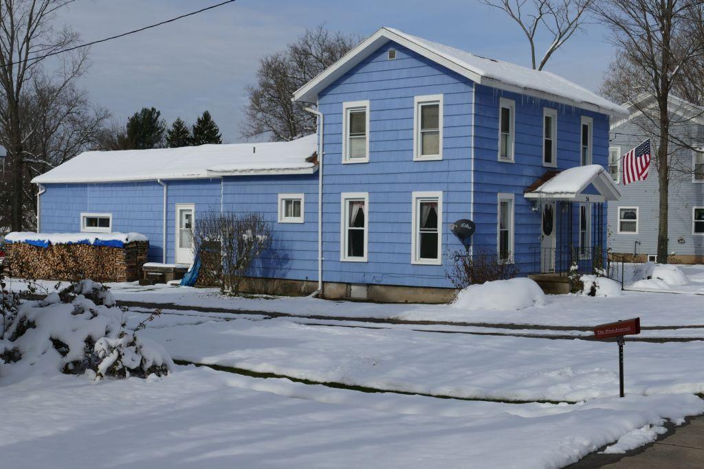 Einfamilienhaus mit Holzfeuerung