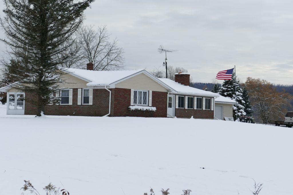 Villa im Schnee