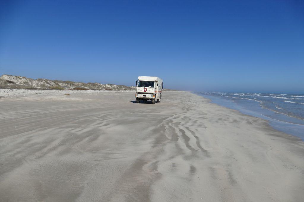 110 km Pistenfahrt dem Meer entlang