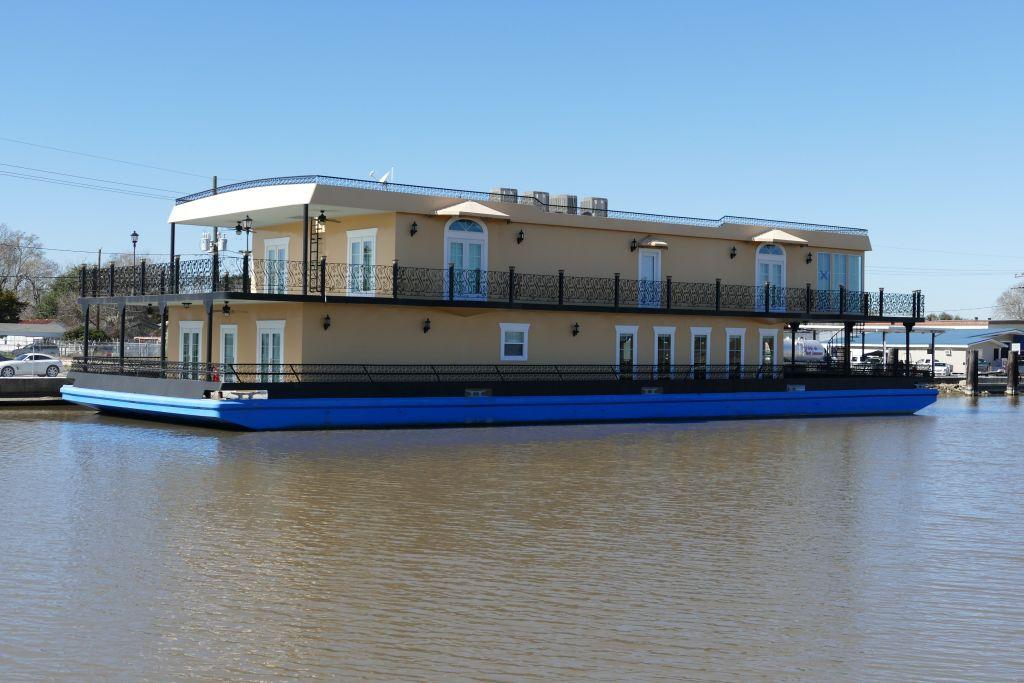 Hausboot statt Pfahlbau
