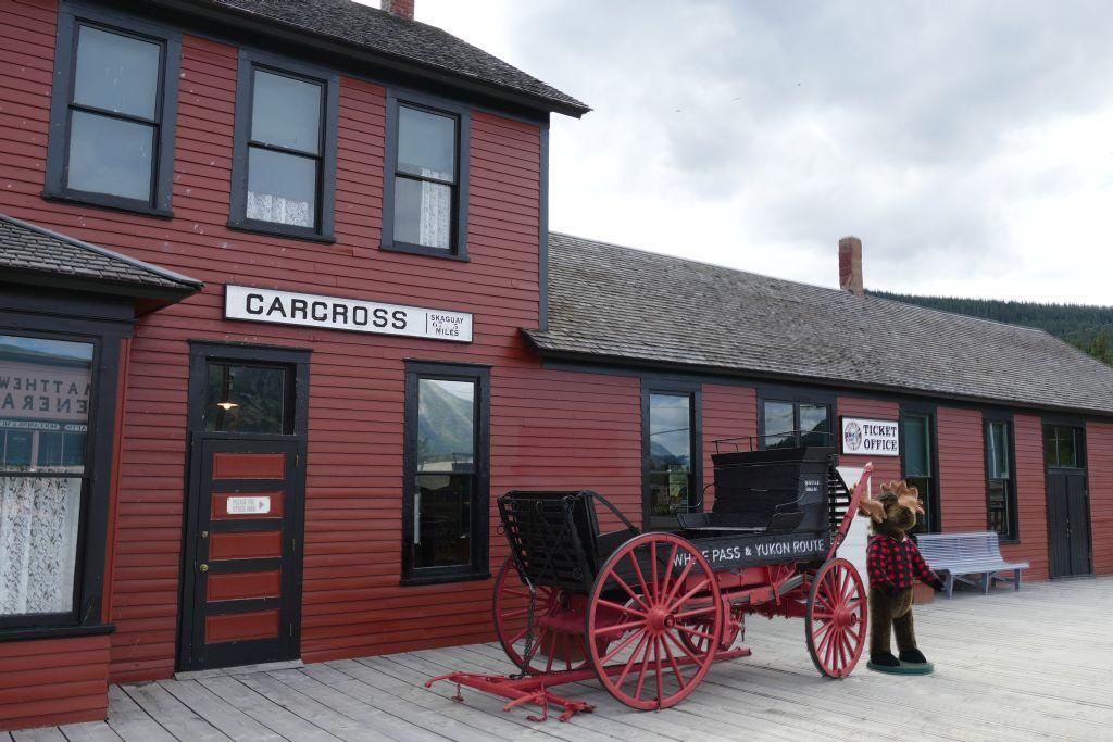 Bahnhof Carcross