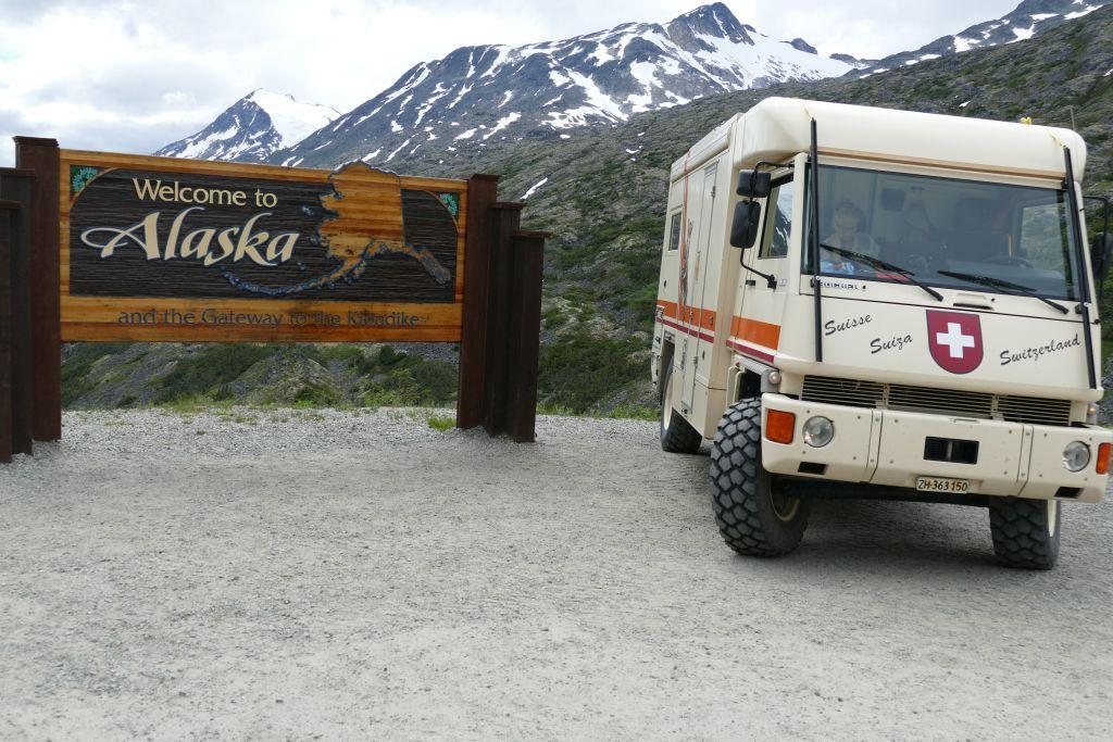 Begrüssung Alaska