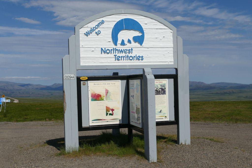 Begrüssung Nordwest Territories