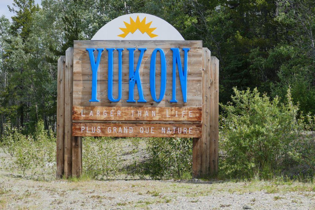 Begrüssung Yukon