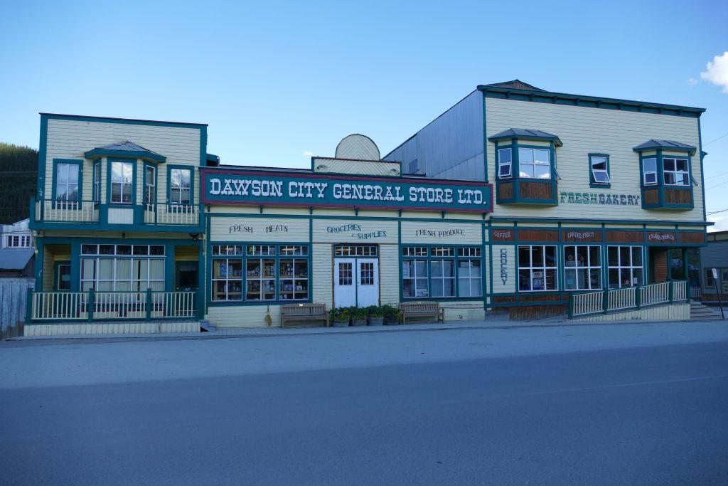 Dawson City Einkaufscenterl