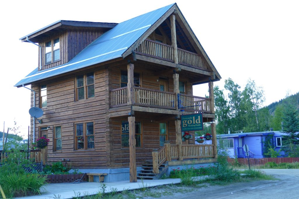 Dawson City Goldhändler