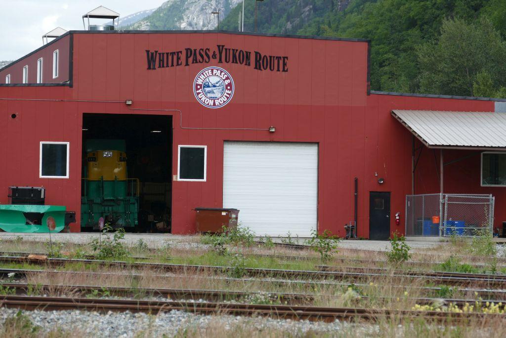 Depot Whitepass Eisenbahn