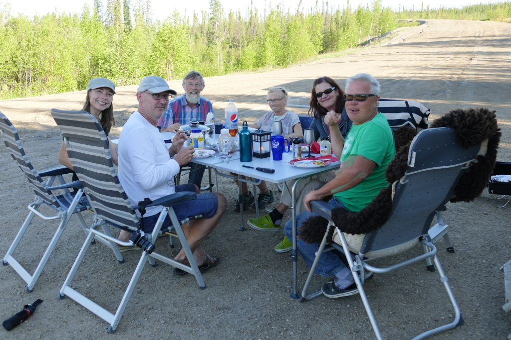 Grillabend am Eagle River