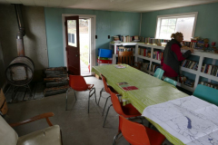 Keno aktive Bibliothek mit Holzfeuerung
