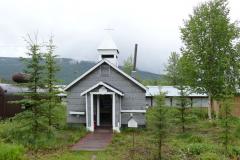 Keno ehemalige Kirche, heute Bibliothek