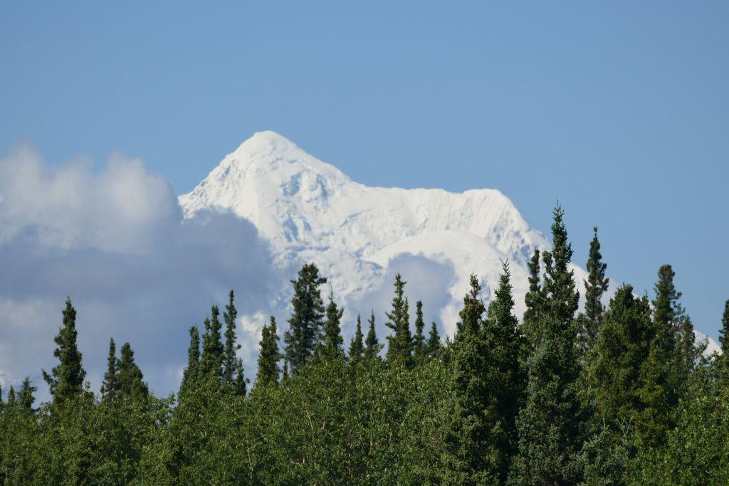 Alaska Range vom Denali Hwy 1