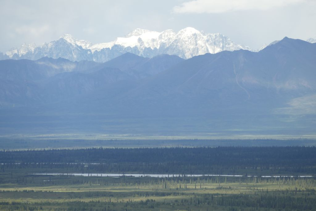 Alaska Range vom Denali Hwy 11