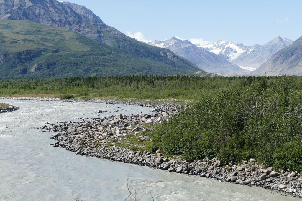 Alaska Range vom Denali Hwy 5