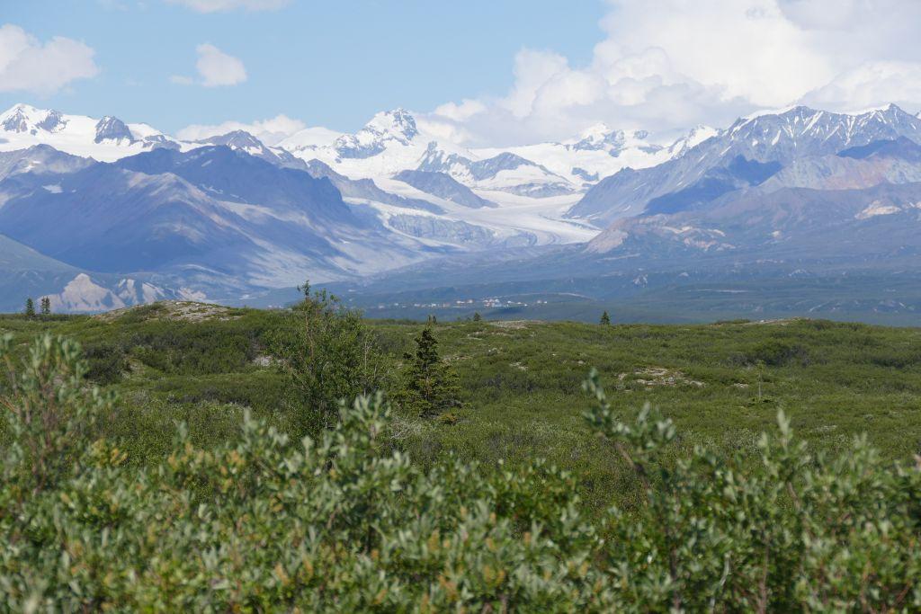 Alaska Range vom Denali Hwy 6
