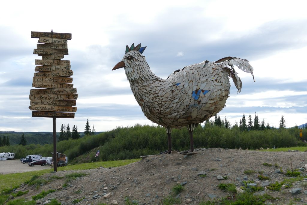 Chicken Wahrzeichen