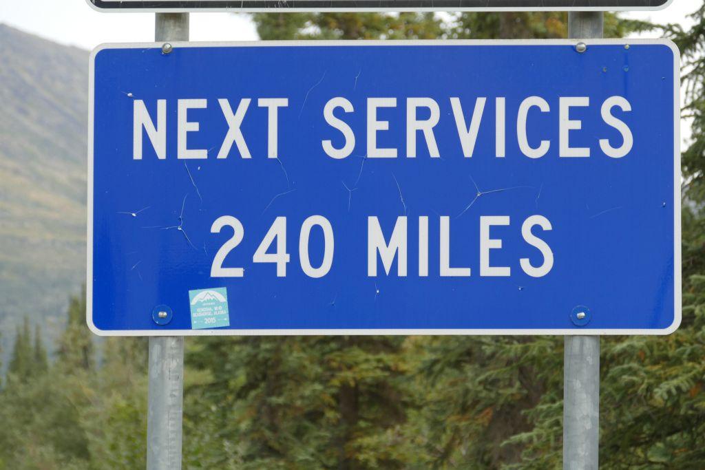 Keine Tankstelle die nächsten 390 km
