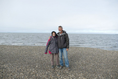 Esther und Karl am Eismeer