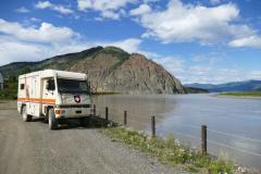 Yukon River bei Eagle 1