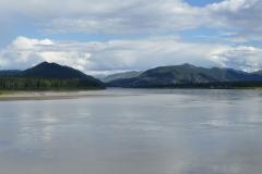 Yukon River bei Eagle 2 Übernachtungsplatz