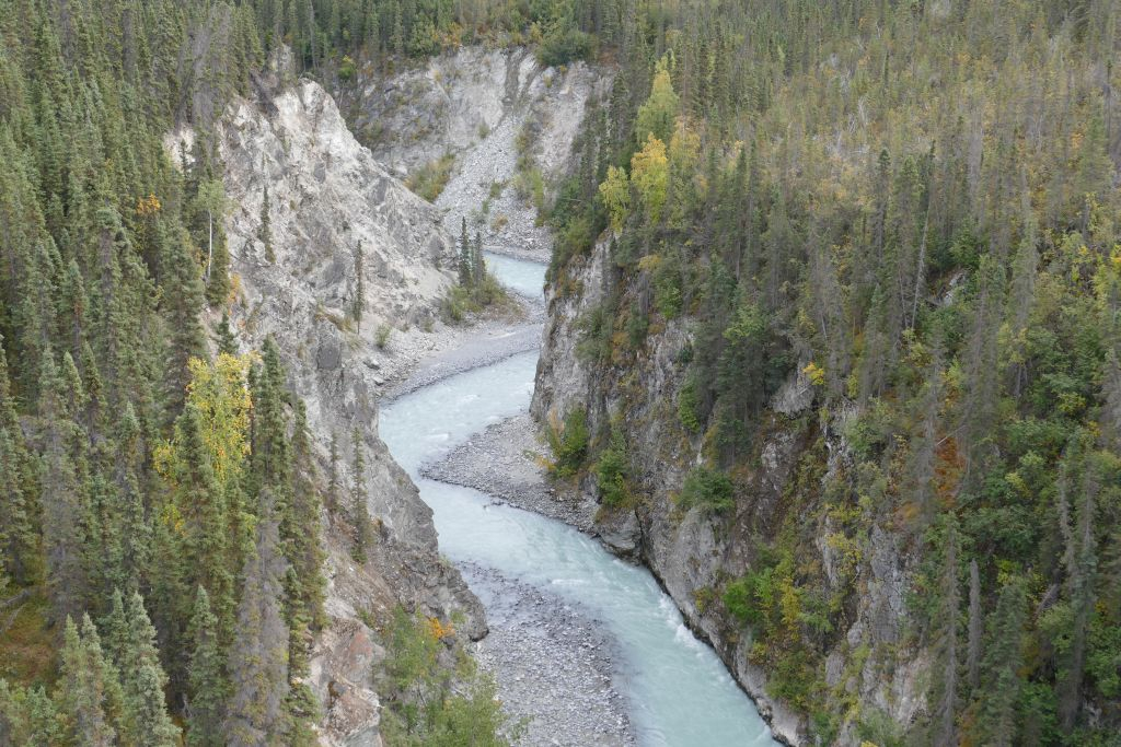 Kuskulana River Schlucht