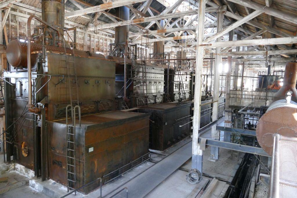 Maschinenraum Kennicott