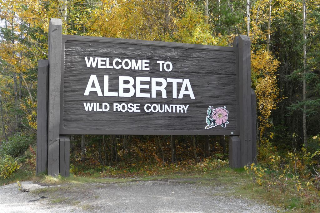 Willkommen in Alberta