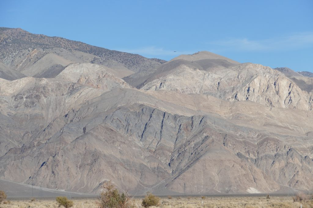 Berge am Rand von Death Valley 1