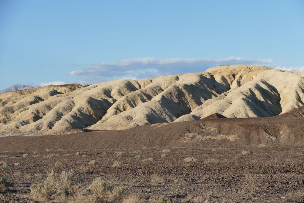 Berge am Rand von Death Valley 5