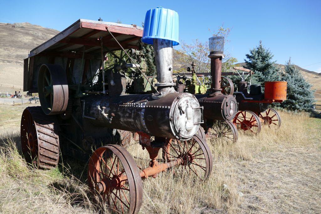 Dampftraktoren 2