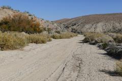Strecke durch Wadi
