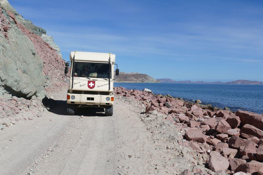 Ab San Evaristo dem Meer entlang