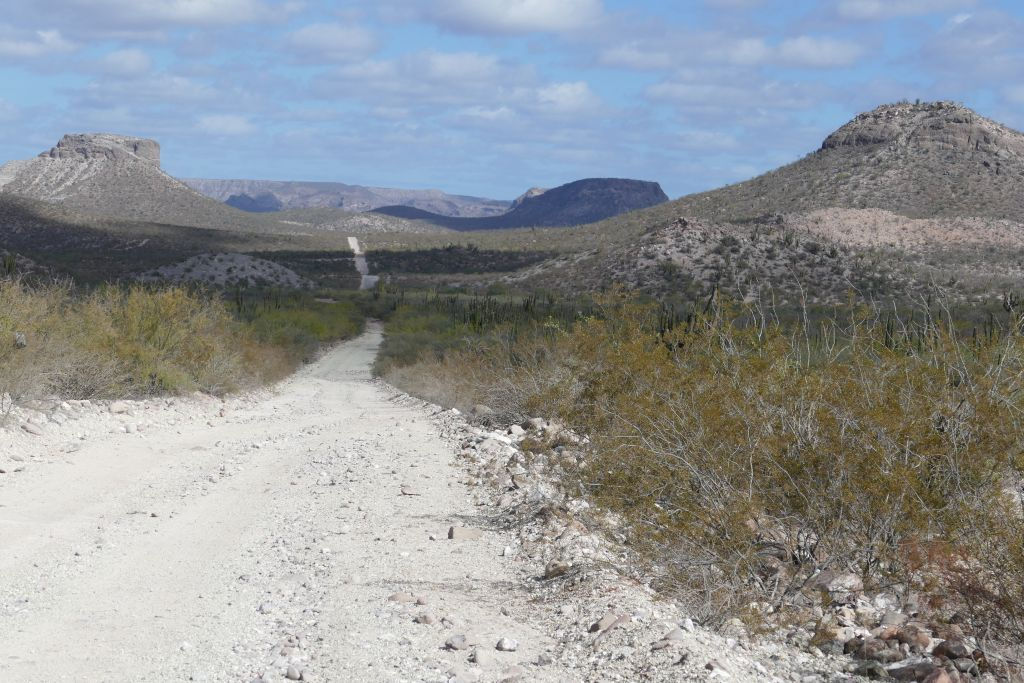 Durch die Sierra de la Giganta 1