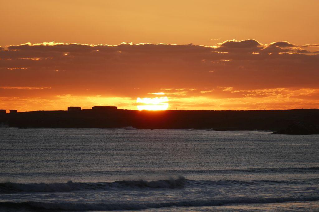 Punta Baja Sonnenuntergang