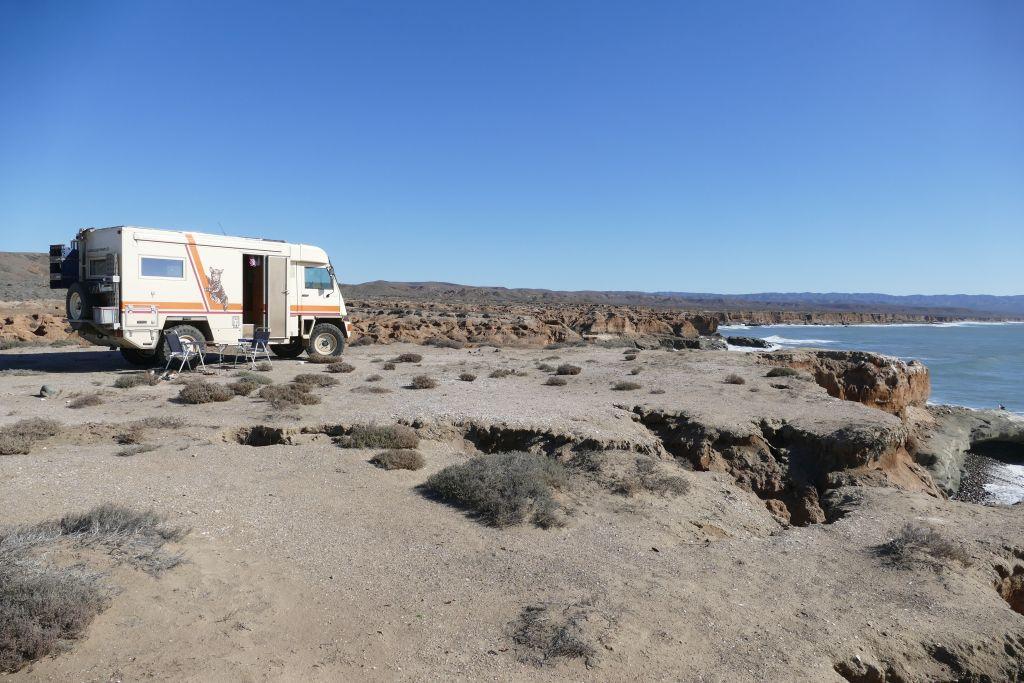 Punta Baja unser Platz