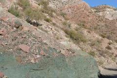 Grüne und rosa Felsen 2