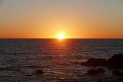 Sonnenuntergang anSyilvester