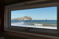 Agua Verde Ausblick aus dem Schlafzimmerfenster