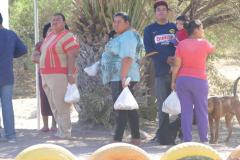 Agua Verde Lebensmittelverteilung 2