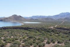 Ausblick Stecke Agua Verde 2
