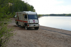 Übernachtungsplatz am Kerr Lake