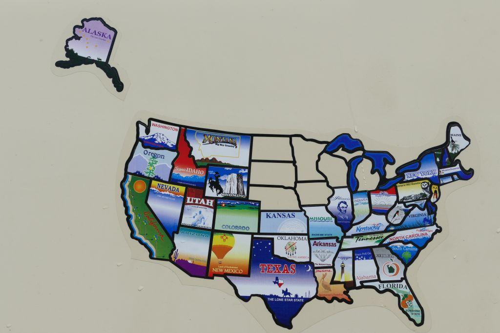 Bereiste Staaten USA