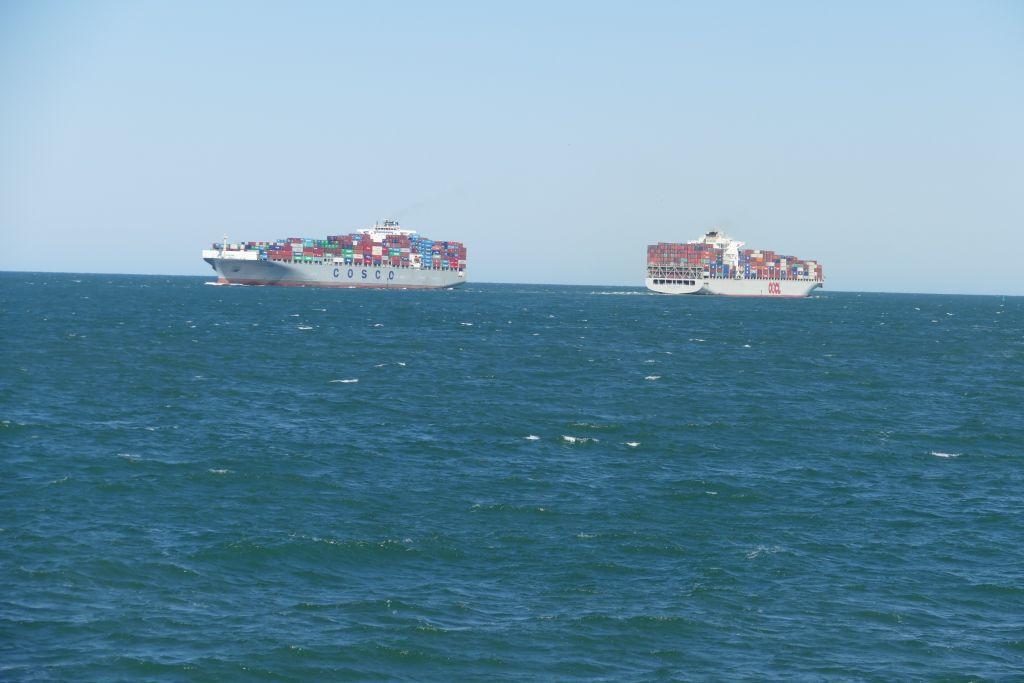 Chesapeake Bay Containerverkehr