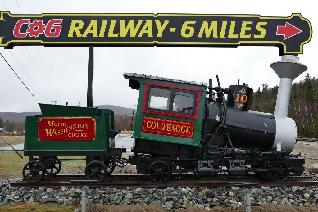 Nachbildung Dampflock Cog Railway