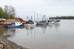 Fischerboote 1 bei Flut
