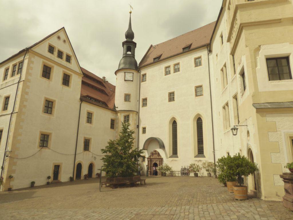 Hof des Schlosses