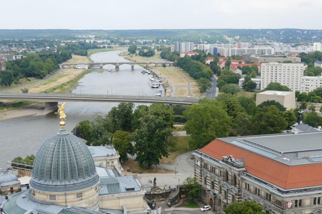 Blick über Stadt