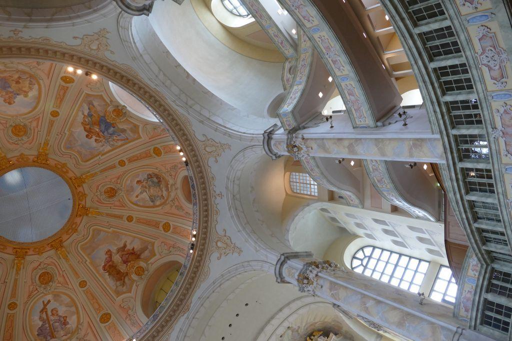 Frauenkirche Kuppel innen